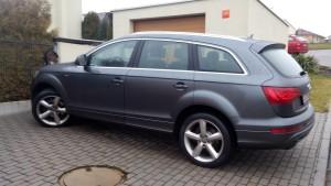 Otevírání Audi Q7